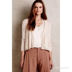Anthropologie Angel of the North Cardigan Size Sm